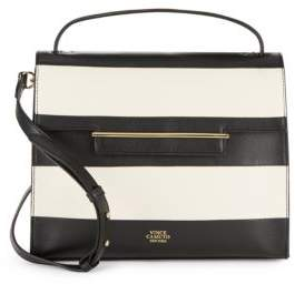 Vince Camuto Striped Leather Handbag