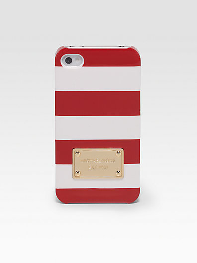 MICHAEL Michael Kors Striped Hardcase for iPhone 5