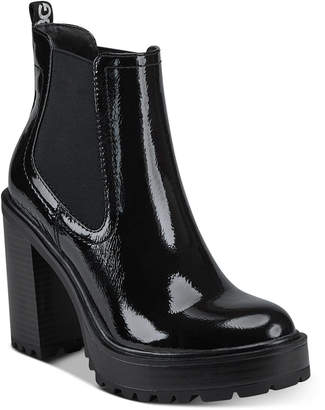 G by Guess Starly Platform Booties Women Shoes