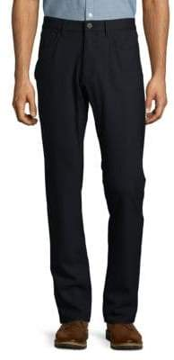 Theory Slim-Fit Wool-Blend Jeans