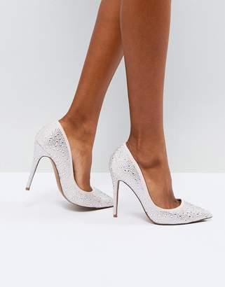 Asos DESIGN PROMISE Embellished High Heels