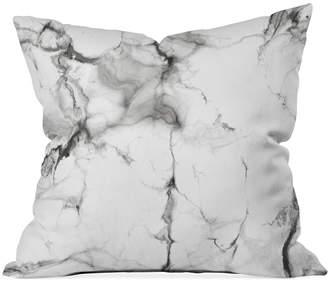 "Deny Designs Chelsea Victoria Marble 16"" Square Decorative Pillow"