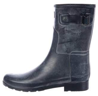 Hunter Rubber Mid-Calf Rain Boots