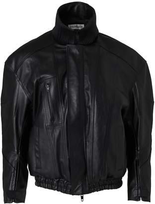 Balenciaga Leather biker jacket