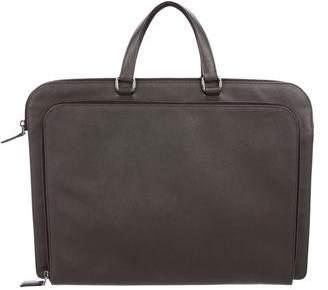 Prada Saffiano Travel Briefcase