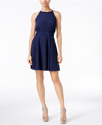 Maison Jules Kimberly Fit & Flare Dress $69.50 thestylecure.com