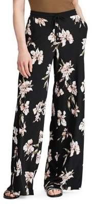 Lauren Ralph Lauren Floral Printed Wide-Leg Pants