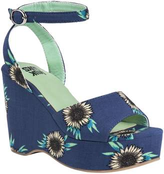 Muk Luks Wedge Sandals - Elodie