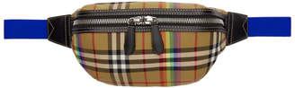 Burberry Beige Vintage Check Fanny Pack
