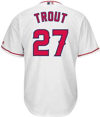 Majestic Big & Tall Los Angeles Angels of Anaheim Mike Trout Cool Base Replica Jersey