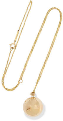 Lee Grace Tama 14-karat Gold Necklace