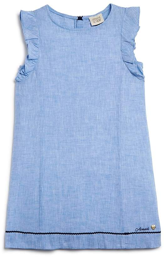 Armani Junior Armani Junior Girls' Linen Dress - Sizes 4-6