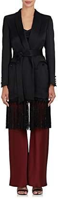 BLAZÉ MILANO Women's Hammered Satin Blazer Robe