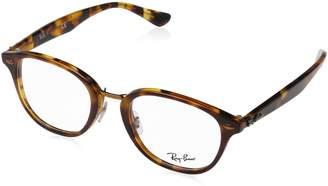 Ray-Ban Women's 0RX 5355 5675 48 Optical Frames (Top Brown/Havana Yellow)