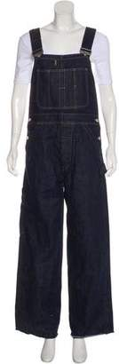 Christian Dior Skinny Denim Overalls