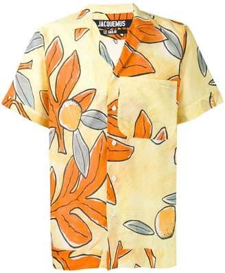 Jacquemus floral print shirt