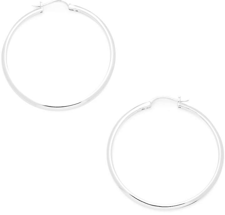 Adriana Orsini Women's Crystal Hoop Earrings