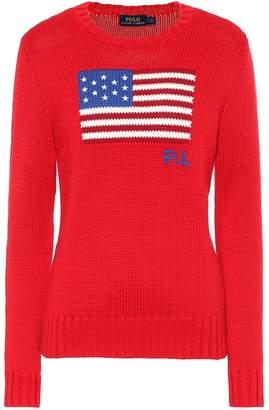 Polo Ralph Lauren Flag intarsia cotton sweater