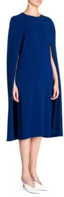 Stella McCartney Stretch Cady Cape Back Dress