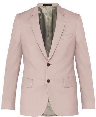 Paul Smith Soho Tailored Wool Blend Suit Jacket - Mens - Light Pink