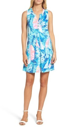 Women's Lilly Pulitzer Essie Shift Dress $98 thestylecure.com