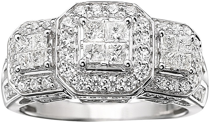 MODERN BRIDE 1 CT. T.W. Diamond Engagement Ring