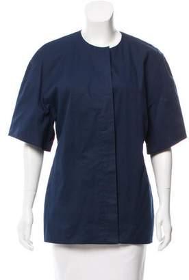 Cacharel Collarless Button-Up Jacket