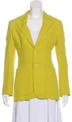 Jean Paul Gaultier Long Sleeve Silk Blazer