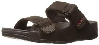 FitFlop Men's Gogh Moc Slide Adjustable Open-Toe Sandals,45 EU