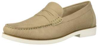 Driver Club Usa Driver Club USA Mens Leather Made in Brazil Rubber Sole Penny Loafer