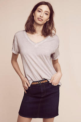 Cloth & Stone Zelda Split-Back V-Neck Tee $78 thestylecure.com