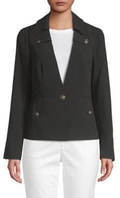 Laundry by Shelli Segal Classic Crepe Jacket