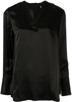 Elie Tahari 'Blaze' longline tunic blouse