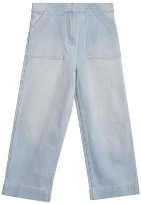 Burberry Relaxed Fit Bleached Jeans
