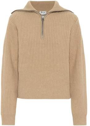 Acne Studios Ribbed wool sweater