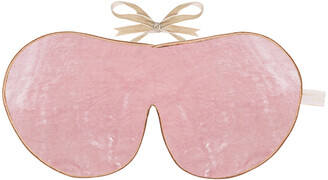 Holistic Silk Limited Edition Velvet Lavender Eye Mask - Rose