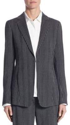 Akris Vertical Striped Blazer