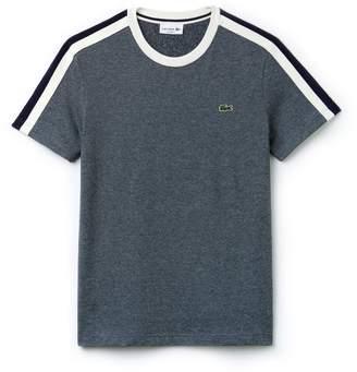 Lacoste Men's Crew Neck Contrast Band Jersey T-shirt