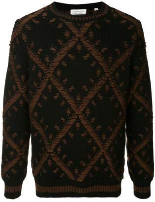 TOMORROWLAND embroidered fitted sweater