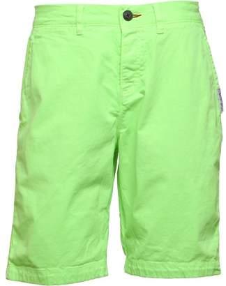 Superdry Mens International Hyper Pop Chino Shorts Cuba Green