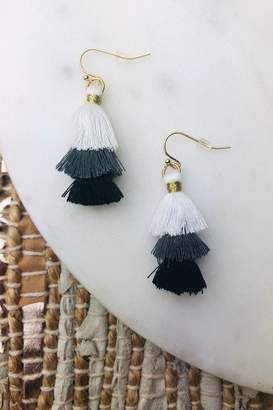 Bohemians Neon Mini Gwen Three Tier Earring