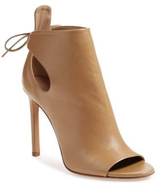 Vince 'Gabbrielle' Open Toe Bootie (Women) $425 thestylecure.com