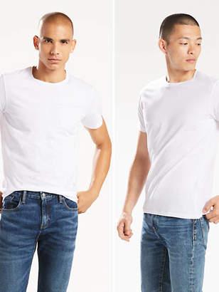 Levi's Slim Fit Crewneck Tee Shirt (2-pack) T-Shirt