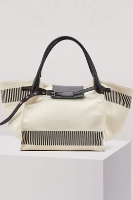 CLine Medium Big Bag in textured canvas