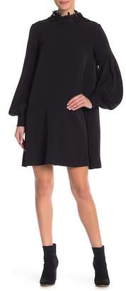 ABS by Allen Schwartz Collection Bishop Sleeve Trapeze Dress
