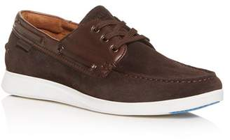 Kenneth Cole Men's Rocketpod Suede Boat Shoes
