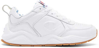 Champion Reverse Weave White 93Eighteen Sneakers