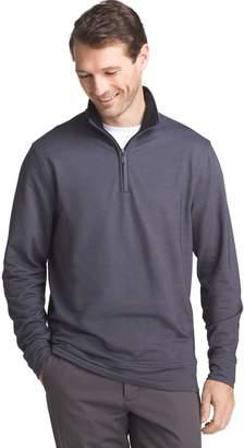 Van Heusen Men's Flex Stretch Classic-Fit Twill Quarter-Zip Pullover