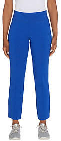 Denim & Co. Active Duo Stretch Straight LegAnkle Pants