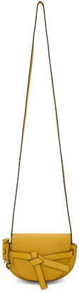 Loewe Yellow Mini Gate Bag